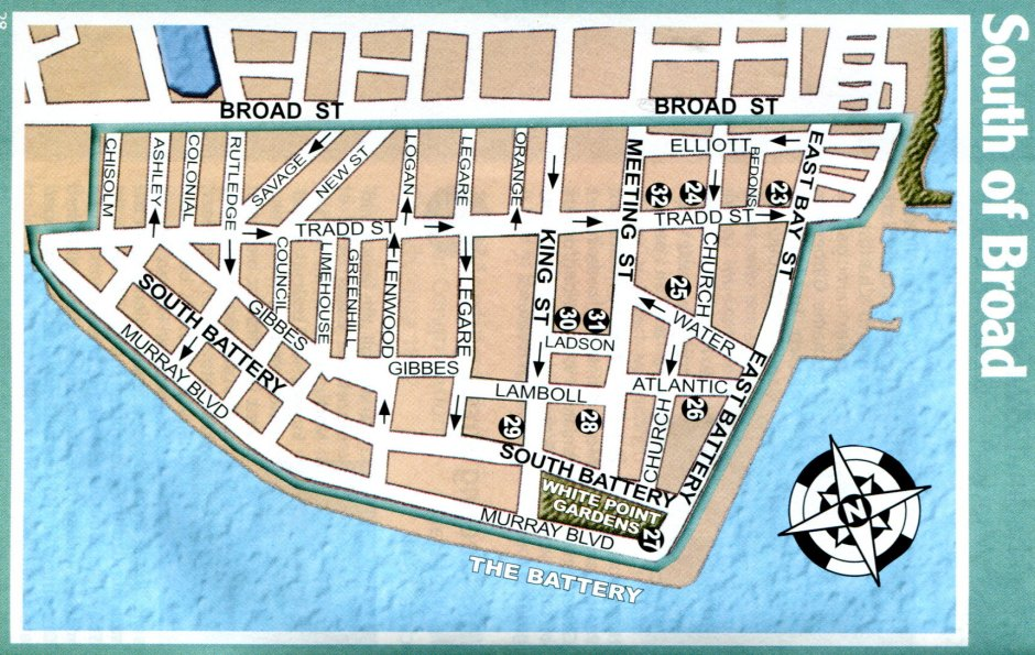 31 innovative Charleston Historic District Map – bnhspine.com on
